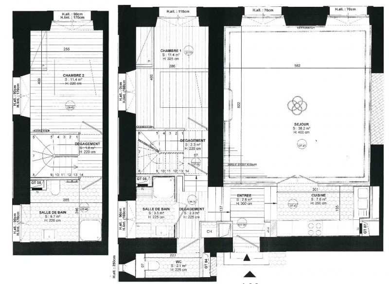 Deluxe sale apartment Versailles 854590€ - Picture 4