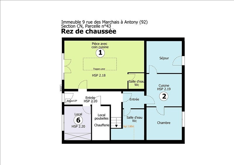 Vente appartement Antony 165 000€ - Photo 6