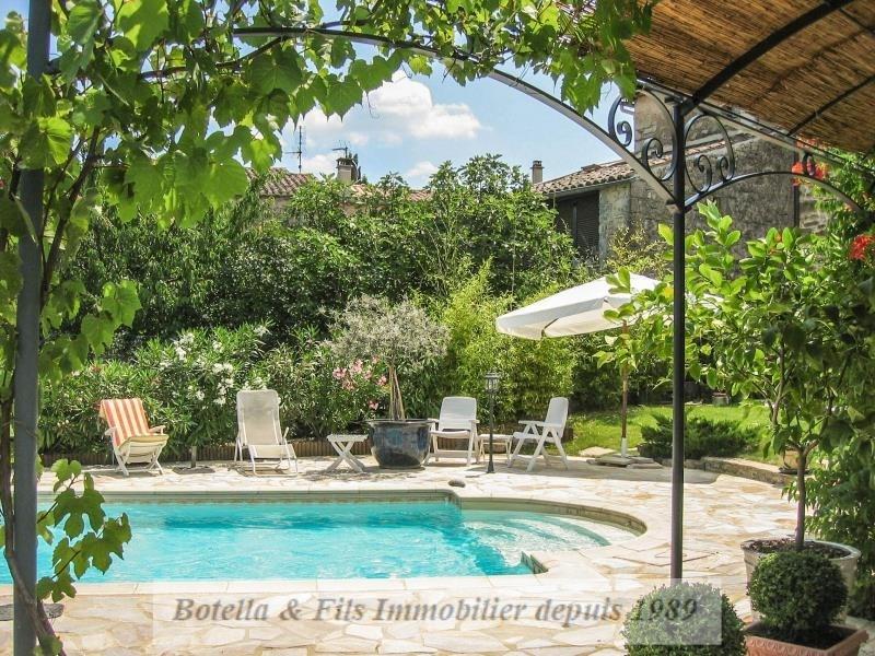 Immobile residenziali di prestigio casa Barjac 446000€ - Fotografia 17