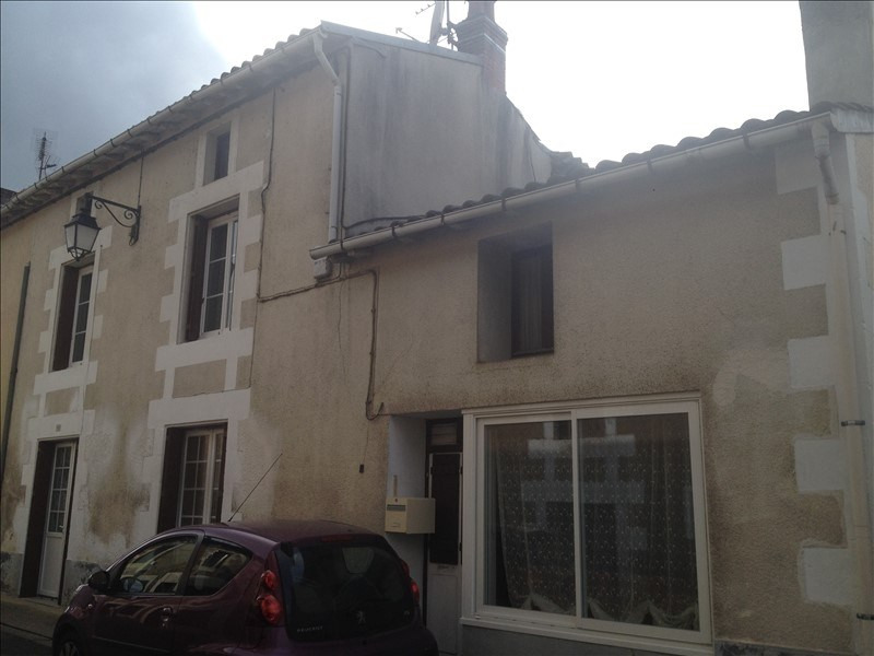 Vente maison / villa Liguge 75 000€ - Photo 1