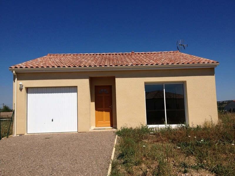 Rental house / villa Albi 700€ CC - Picture 1
