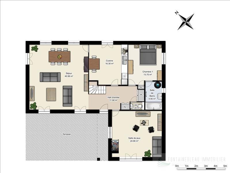 Sale house / villa Fericy 700000€ - Picture 9