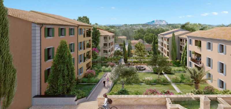 Vente appartement Aix en provence 296 000€ - Photo 3