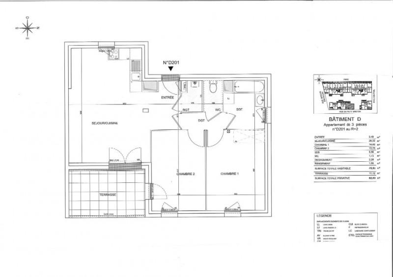 Vente appartement Saint nazaire 222000€ - Photo 6