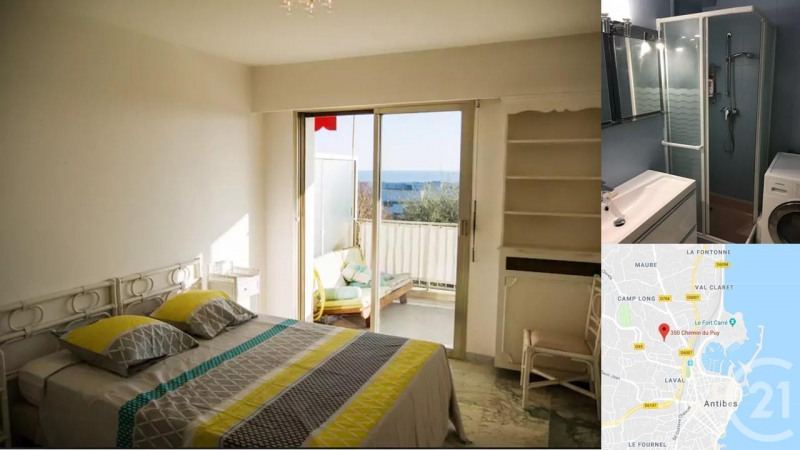 Rental apartment Antibes 1 550€ CC - Picture 7