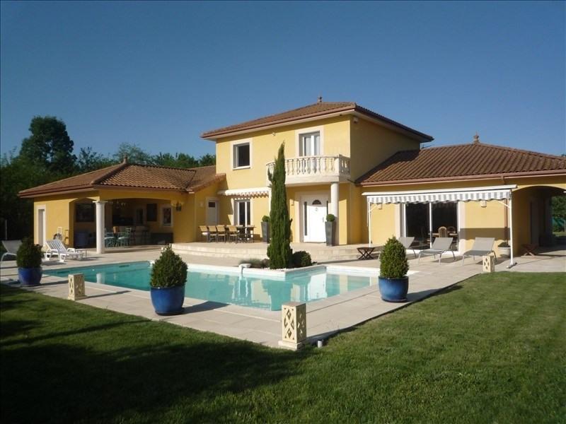 Vente de prestige maison / villa Tignieu jameyzieu 670000€ - Photo 1