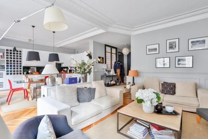 Deluxe sale apartment Paris 17ème 1390000€ - Picture 3