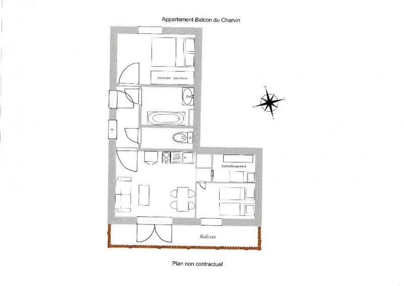 Vente appartement Notre dame de bellecombe 160000€ - Photo 12