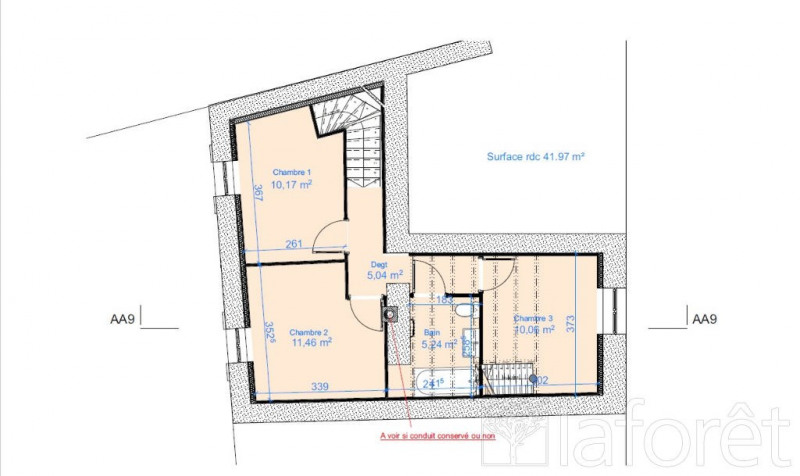 Sale house / villa St alban de roche 265000€ - Picture 3