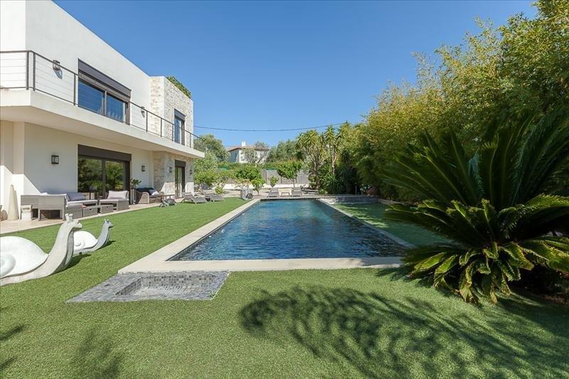 Revenda residencial de prestígio casa Juan les pins 1749000€ - Fotografia 2