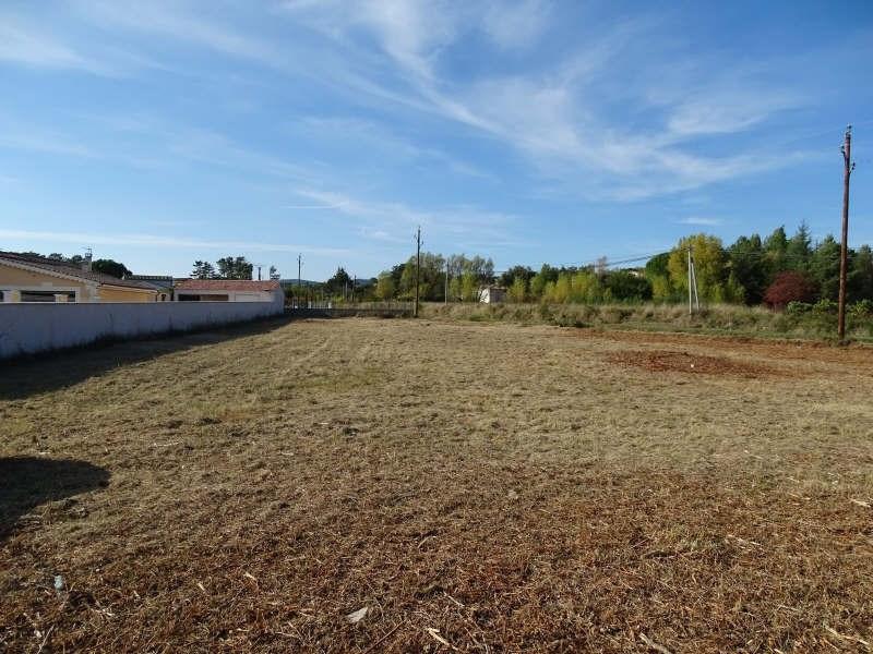 Venta  terreno Vagnas 65000€ - Fotografía 1