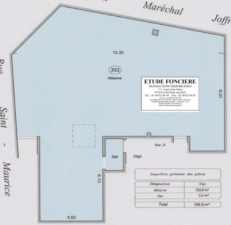 Rental shop Nanterre 5900€ HC - Picture 3