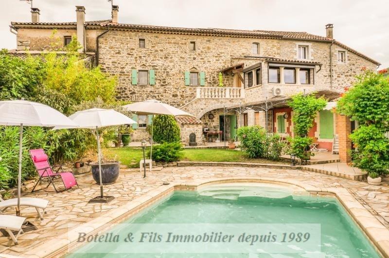 Vente de prestige maison / villa Barjac 446000€ - Photo 1