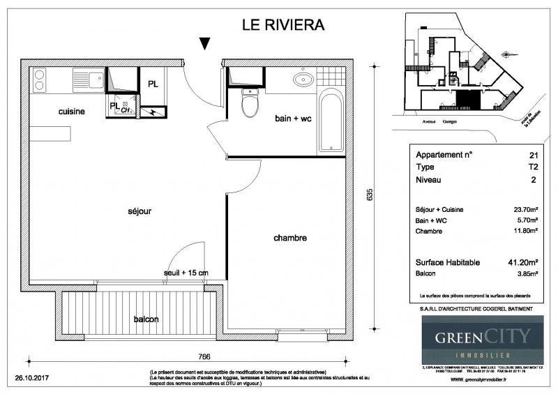 Location appartement Chennevieres sur marne 745€ CC - Photo 2