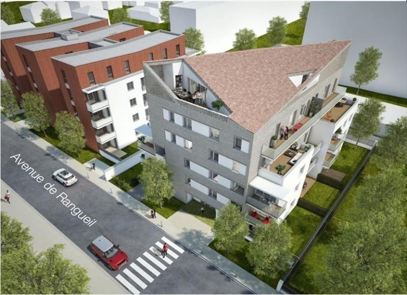 Vente appartement Toulouse 293500€ - Photo 2