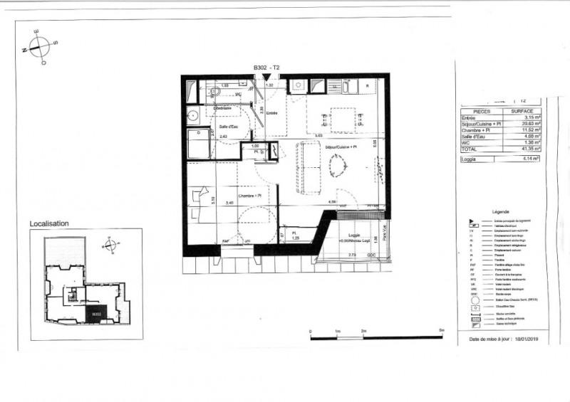 Venta  apartamento Angers 177000€ - Fotografía 5