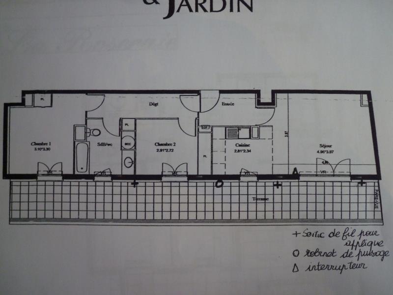 Rental apartment Rosny sous bois 1200€ CC - Picture 2