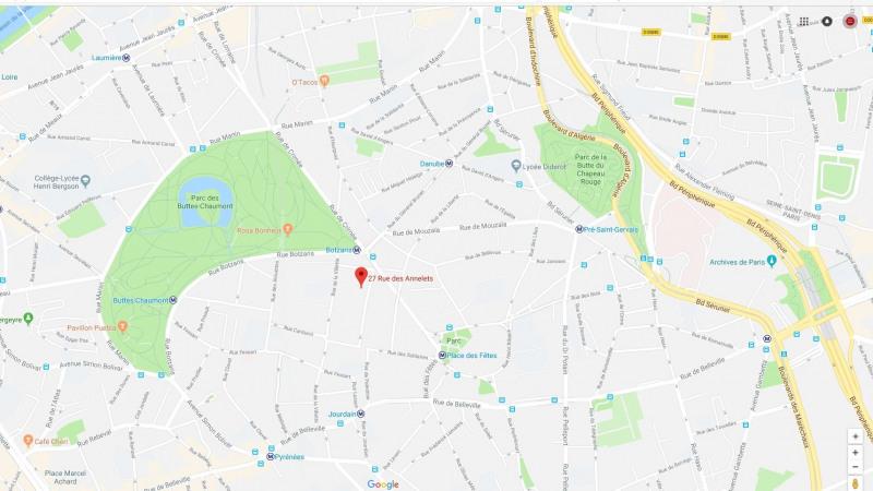 Location parking Paris 19ème 80€ CC - Photo 2