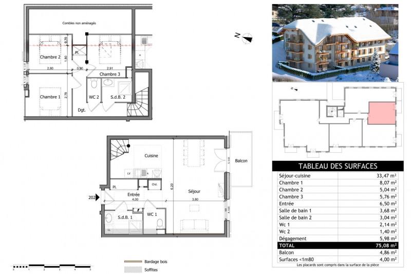 Vente appartement Saint gervais les bains 319000€ - Photo 18