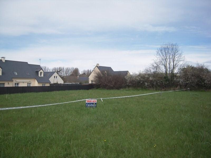 Revenda terreno Gouville sur mer 48500€ - Fotografia 1