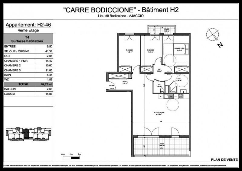 Vente appartement Ajaccio 282000€ - Photo 2