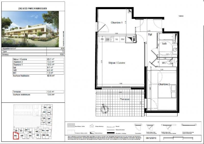 Vente appartement Fabregues 216000€ - Photo 6