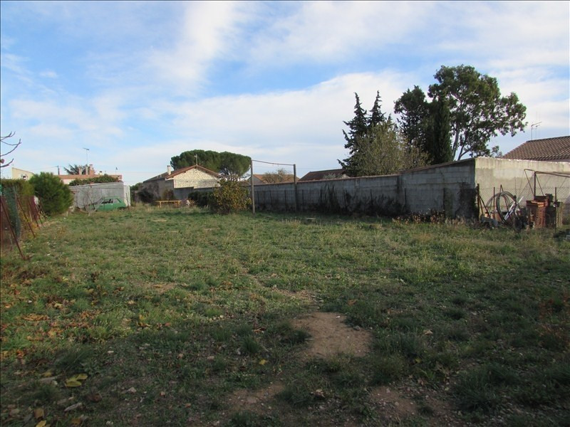 Venta  terreno Lignan sur orb 134000€ - Fotografía 1