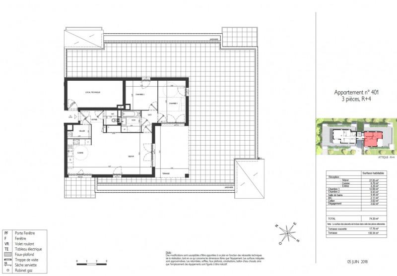 Vente appartement Lyon 5ème 468000€ - Photo 2