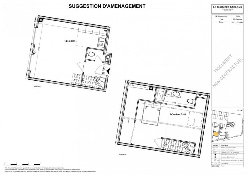 Venta  apartamento Linas 126150€ - Fotografía 5