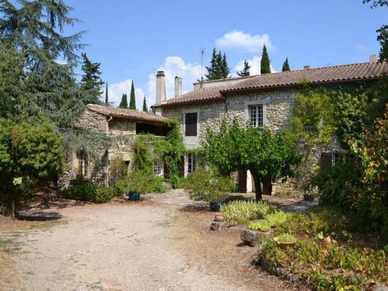 Deluxe sale house / villa Boulbon 899000€ - Picture 1