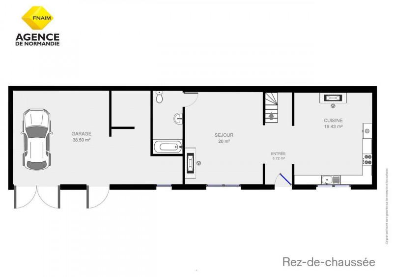 Vente maison / villa Montreuil-l'argillé 106750€ - Photo 5