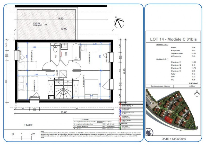 Sale house / villa L isle d'abeau 300200€ - Picture 3