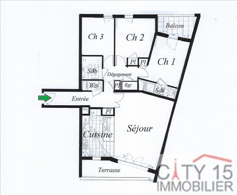 Revenda apartamento Issy les moulineaux 920000€ - Fotografia 4