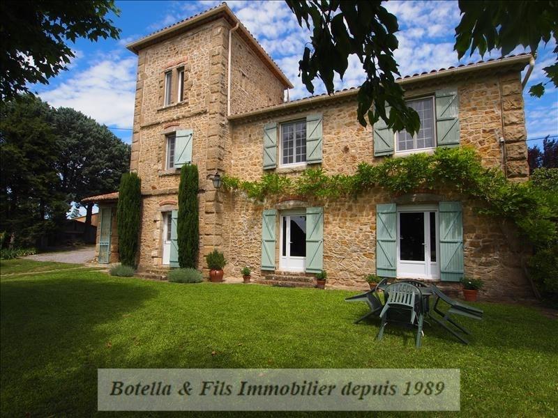 Immobile residenziali di prestigio casa Uzes 849000€ - Fotografia 1