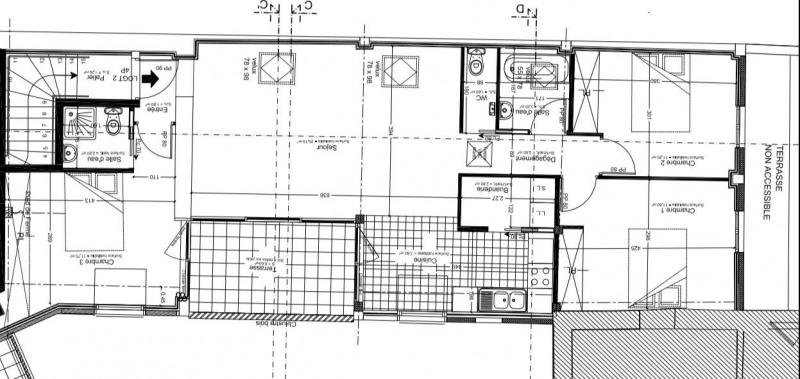 Rental apartment Montigny-sur-loing 1275€ CC - Picture 9