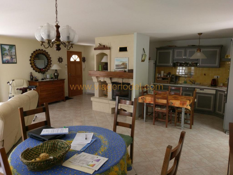 Lijfrente  huis Collias 120000€ - Foto 3