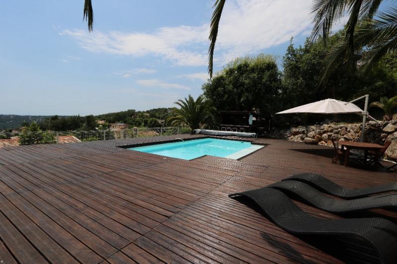 Revenda residencial de prestígio casa Gattieres 830000€ - Fotografia 2