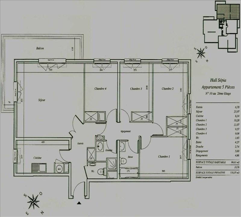 Rental apartment Chatillon 2234€ CC - Picture 7