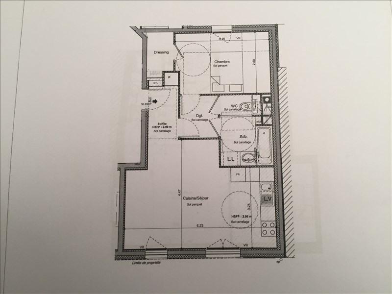 Vente appartement Villeurbanne 231750€ - Photo 2