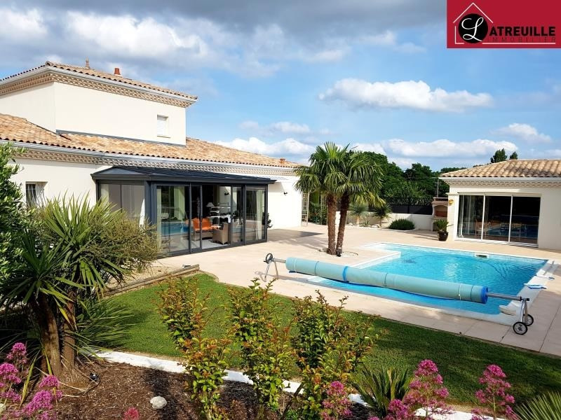 Vente maison / villa Gemozac 507150€ - Photo 1