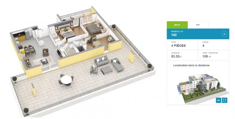 Vente appartement Villeurbanne 507000€ - Photo 2
