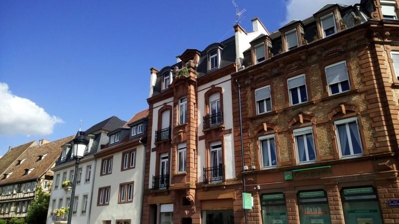 Rental apartment Wissembourg 460€ CC - Picture 1