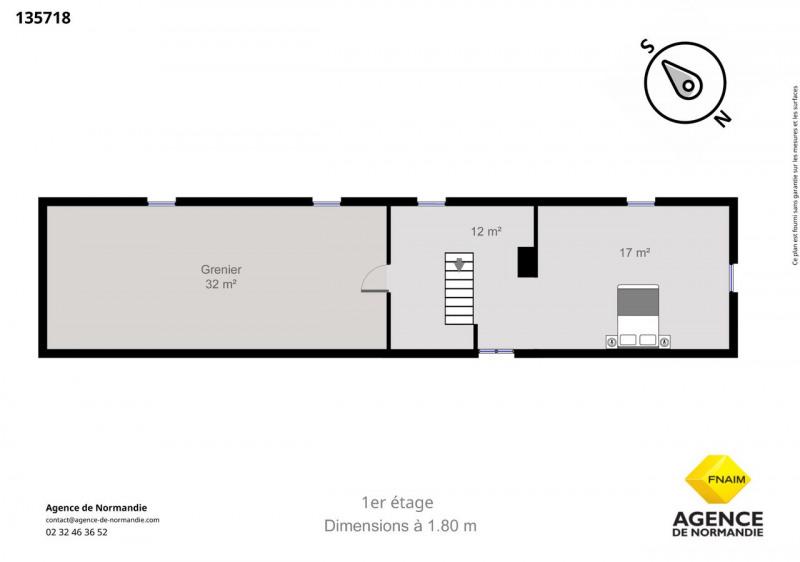 Vente maison / villa Montreuil-l'argillé 130000€ - Photo 7