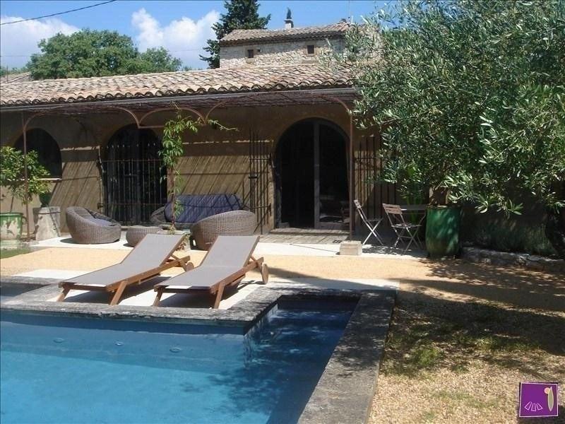 Vente de prestige maison / villa Uzes 515000€ - Photo 1
