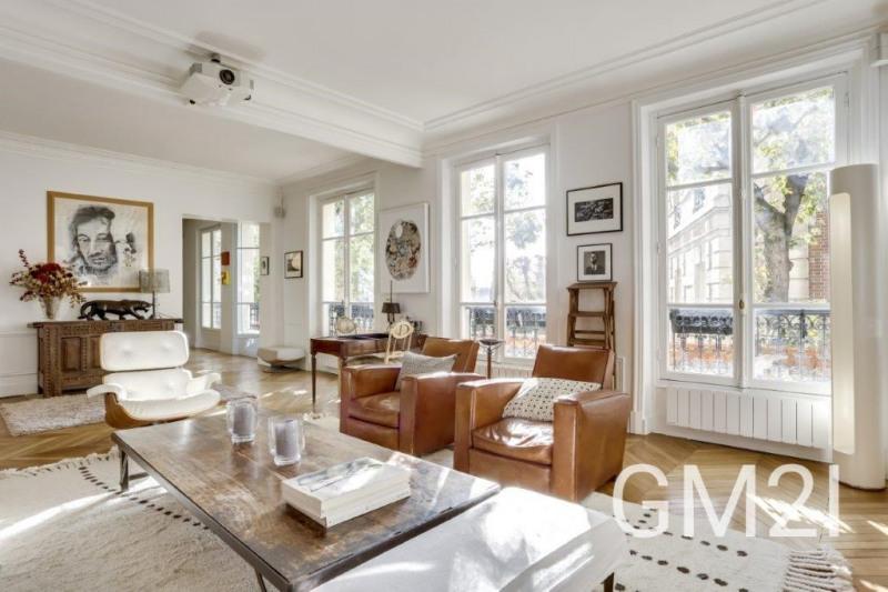 Vente de prestige appartement Paris 16ème 3140000€ - Photo 2
