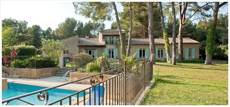 Deluxe sale house / villa Grans 990000€ - Picture 1