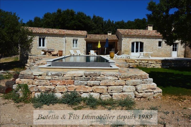 Verkoop van prestige  huis Barjac 526315€ - Foto 1