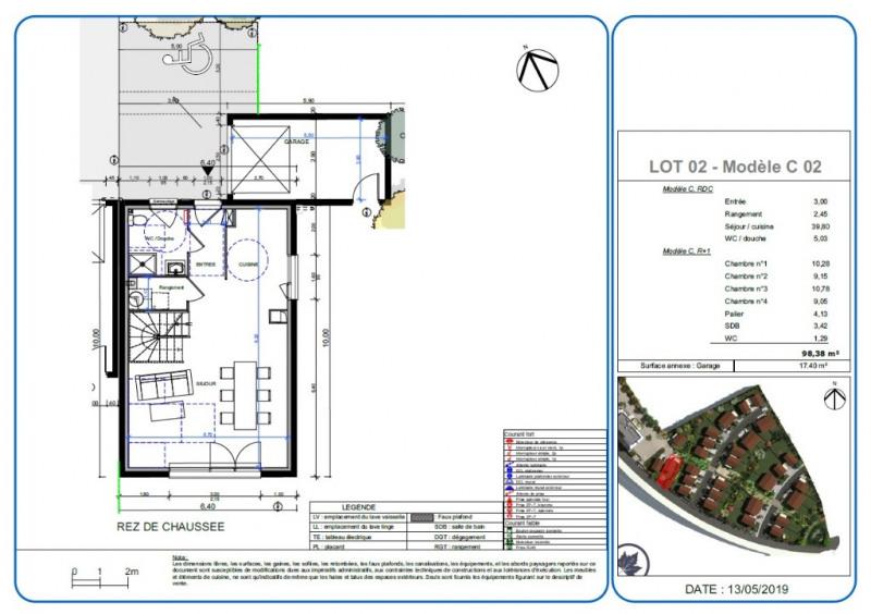 Sale house / villa L isle d'abeau 284000€ - Picture 2