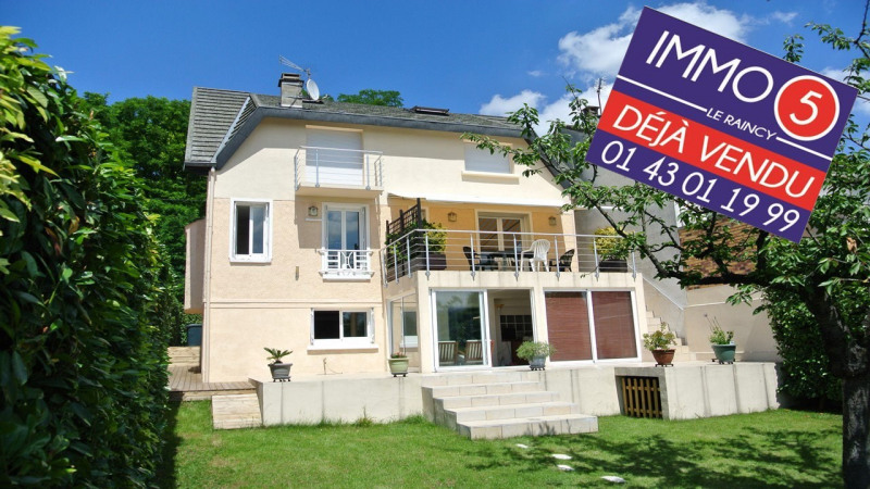 Vente maison / villa Le raincy 595 000€ - Photo 1