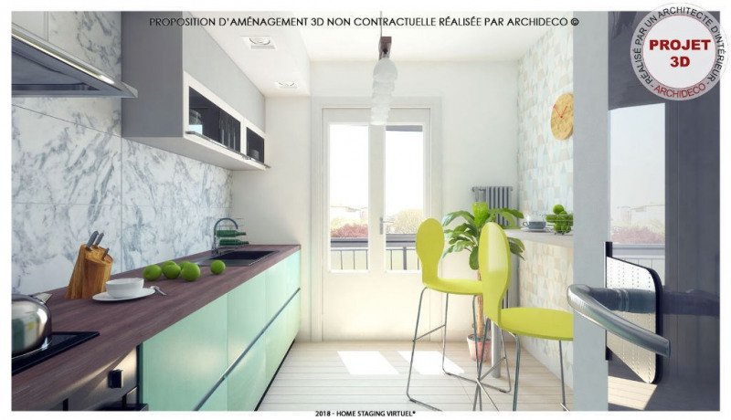 Sale apartment Colomiers 99 900€ - Picture 3